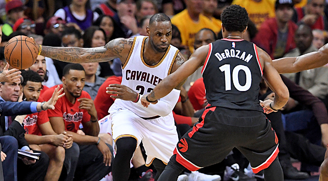 LIVE: Raptors at Cavs