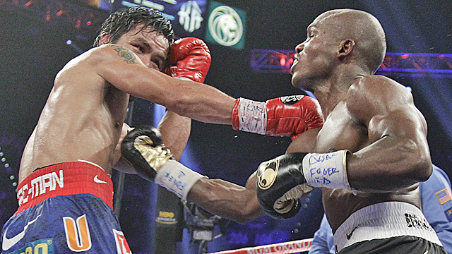 A panel of five judges all score Pacquiao's fight against Bradley in Pacquiao's favor. (Getty Images)