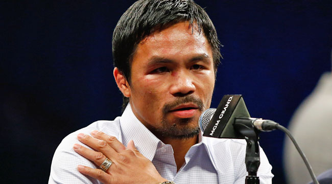Pacquiao: Prior shoulder injury impacted fight