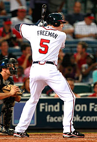 Freddie Freeman could make a significant second-half impact in Atlanta. (Getty Images)