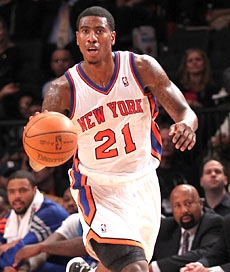 Iman Shumpert has hit the ground running for the Knicks. (US Presswire)