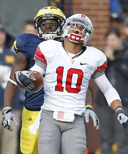 Imagine doubling the dose of intensity and fun that is the Michigan-Ohio State game. (Getty Images)