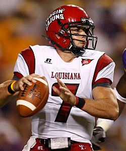 Chris Masson is back at Louisiana-Lafayette for his junior season. (Getty Images)