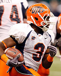 Donald Buckram is back at UTEP after rushing for 1,594 yards last season. (Getty Images)