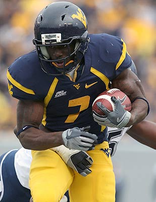 RB Noel Devine is a pint-sized powerhouse for West Virginia. (US Presswire)