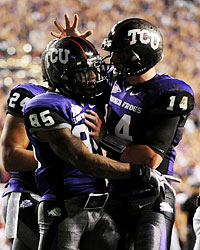 Jeremy Kerley and Andy Dalton return to give TCU one of the best offenses in the nation. (Getty Images)
