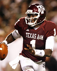 Jerrod Johnson finished third in the nation in total offense. (Getty Images)