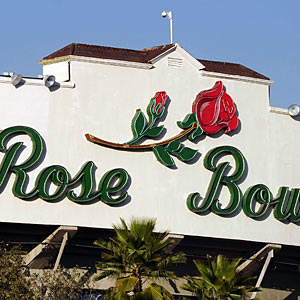 The Rose Bowl could play host to Boise State in January. (US Presswire)
