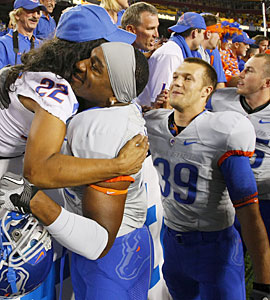 Boise State is no longer a small school trying to break through -- but a true national power. (Getty Images)