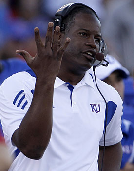 Turner Gill's debut went so bad at Kansas, North Dakota State's coach is even taking shots. (AP)
