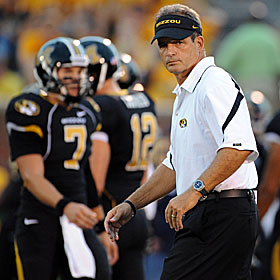 Missouri's Gary Pinkel characterizes the stress as unimaginable. (US Presswire)