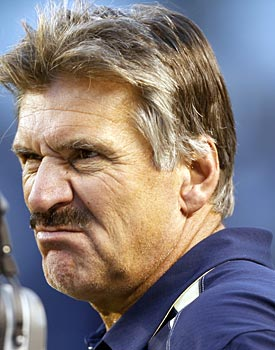 Anyone watching college football this year probably has this Dave Wannstedt-like grimace on his or her face. (AP)