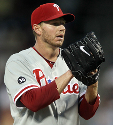 Roy Halladay's coming off a postseason no-hitter. (Getty Images)