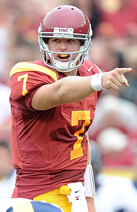 Matt Barkley's decision to stay helped USC maintain some legitimacy while under NCAA sanctions. (Getty Images)