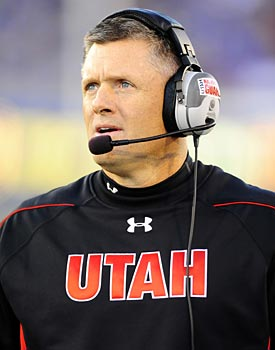 Utah has not missed a beat since coach Kyle Whittingham took over after Urban Meyer left for Florida. (US Presswire)