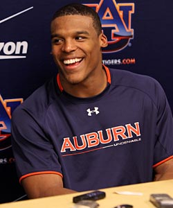 Cam Newton has helped lead his Auburn Tigers to an undefeated record and No. 2 in the BCS. (US Presswire)