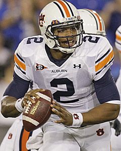 Cam Newton leads the SEC in rushing and is the No. 1 Heisman candidate. (AP)
