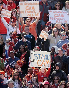 It's safe to assume Auburn fans will take a title any way they can get, especially after the 2004 BCS snub. (AP)