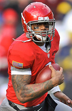 Terrelle Pryor and his partners in crime could take off for the NFL after playing in the Sugar Bowl. (Getty Images)