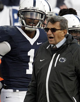 Joe Paterno won't let Robert Bolden go, but a coach can leave whenever he wants. Sounds like hypocrisy. (AP)