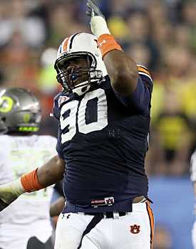 Jadeveon Clowney could follow in the footsteps of Nick Fairley (pictured), Terrence Cody and Glenn Dorsey. (Getty Images)