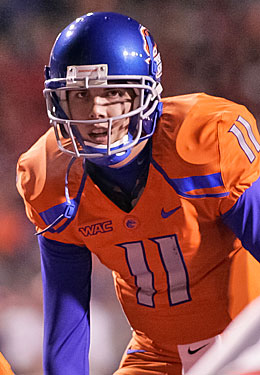 Heisman finalist Kellen Moore will be a front-runner for the BCS-dominated award in 2011. (Getty Images)