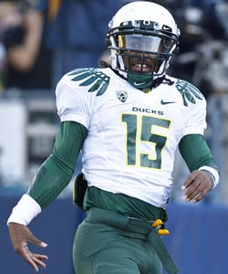 Highly touted Lache Seastrunk reportedly has a relationship with a recruiting serviceman Will Lyles. (US Presswire)