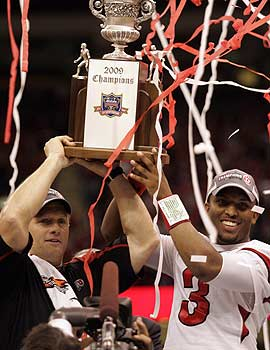 The Utes beating Alabama in the 2009 Sugar Bowl is an example that the underdogs can play. (US Presswire)