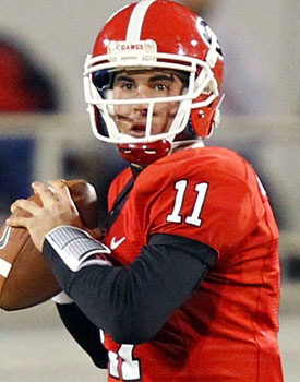 'It's time to spice things up around here,' Aaron Murray says. (US Presswire)