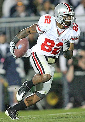 Ray Small, who played for Ohio State from 2006-2010, says players routinely received deals on cars from Columbus dealers. (Getty Images)