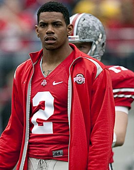 Ohio State is not releasing info regarding Terrelle Pryor's relationship with Ted Sarniak. (US Presswire)