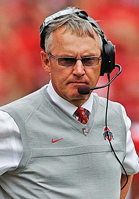 Tressel was entering his 11th season as head coach for the Buckeyes. (Getty Images)