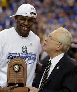 SEC commissioner Mike Slive has enjoyed a slew of success in all major college sports. (US Presswire)