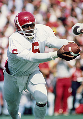 When Doyel was a youngster, Thomas Lott was running the option in Norman. (US Presswire)