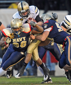 Sources say the league may approach Army and Navy to join the Big East as football-only members. (Getty Images)