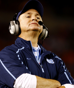 UNC coach Butch Davis hired an agent's runner as his recruiting coordinator. (Getty Images)