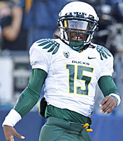Lache Seastrunk could be the most costly recruit in Oregon history. (US Presswire)