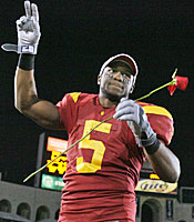 It hasn't been all roses for Reggie Bush and USC since his departure. (US Presswire)