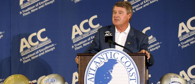 Swofford knows that improving the ACC's 1-5 BCS record is critical to changing perceptions. (US Presswire)