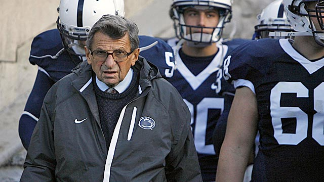 Paterno has led the Nittany Lions to 58 wins in the past six seasons. (US Presswire)