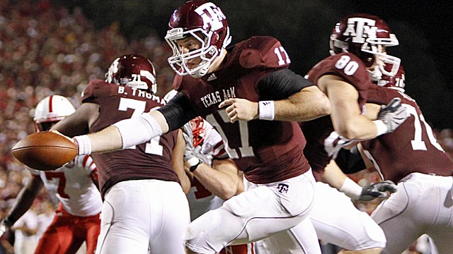 Are the Aggies ready to jump into the nation's toughest conference? (US Presswire)