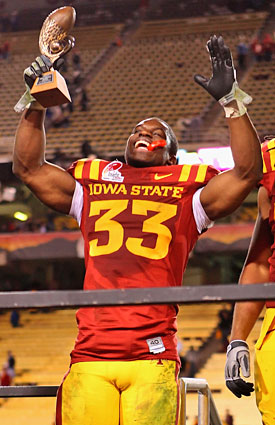 Aside from the occasional Insight Bowl victory, Iowa State hasn't had much to celebrate at the college level. (Getty Images)