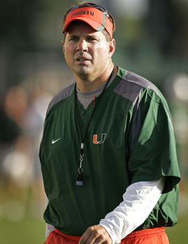 Reports about players getting extra benefits is not how new 'Canes coach Al Golden hopes to begin his era at Miami. (AP)