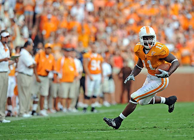 Bryce Brown, once a Vols RB now at K-State, was wooed by Miami and is implicated in the scandal. (US Presswire)
