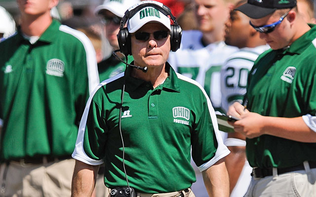 Frank Solich, entering his seventh season in Athens, gives Ohio rare continuity. (Getty Images)
