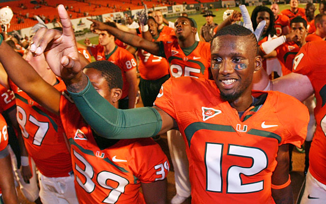 Jacory Harris, a local who dreamed of Miami glory, begins his senior season under suspension. (Getty Images)