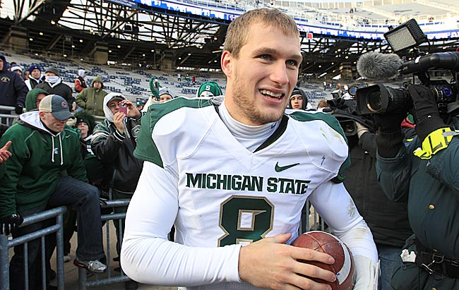 It might not get him any Heisman votes, but Kirk Cousins wins a lot of admirers with his speech. (US Presswire)