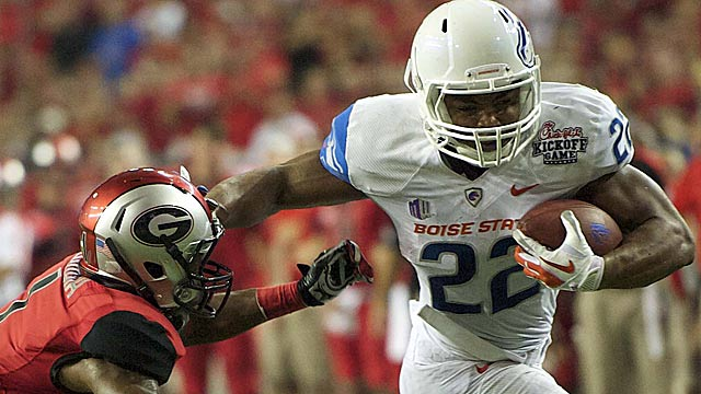Ask Georgia if Boise State's Doug Martin could play in the SEC. (US Presswire)