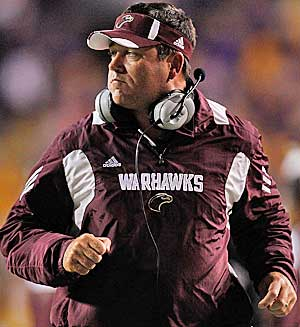 Todd Berry is currently coach at Louisiana-Monroe, his fourth job since leaving Army in 2003. (Getty Images)
