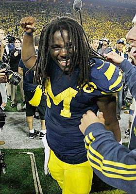 With Al Borges calling the plays, Denard Robinson has become the most exciting player to watch this season. (AP)